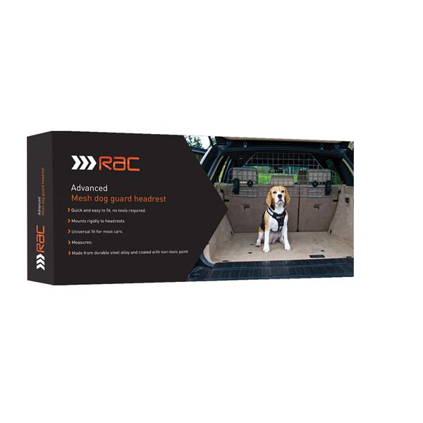 Rac Advanced Mesh Dog Guard Headrest Pet Brands Ltd